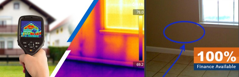wall waterproofing solutions with thermographic survey imaging